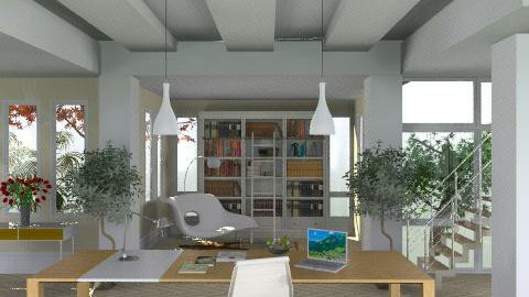 Soft office - Modern - Office  - by M_Lane