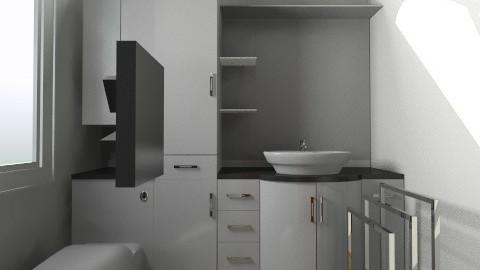 bathroomm - Vintage - Bathroom - by deLouisyane