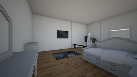 bed - Bedroom - by galaxygirl101