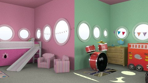 let them play - Classic - Kids room  - by deleted_1550519236_sorroweenah