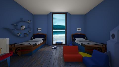 Nautical kids bedroom - Classic - Kids room  - by jaxboy2008