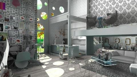 uma sala - Modern - Garden  - by Araujo