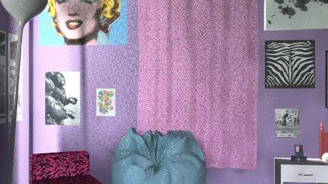 dlk;vja;sv - Retro - Bedroom  - by stefstarstrukk