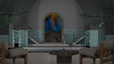 Morocco - Garden  - by Yudum Kutlu
