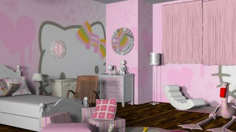 Pinky lima - Glamour - Kids room  - by SariJo
