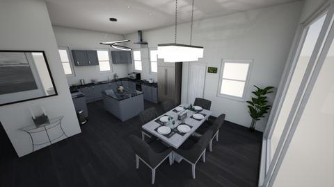 Grey Kitchen - Kitchen - by Cameron Dunewood