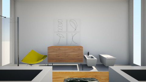 Minimal White Bathroom - Minimal - Bathroom  - by Seducti0n