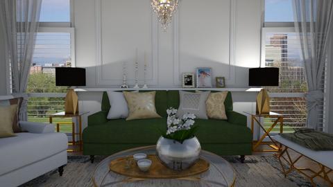 Regency style - Living room - by Tuija