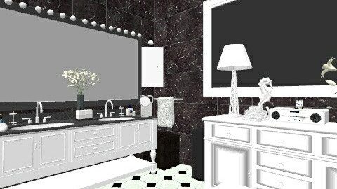 lux - Eclectic - Bathroom  - by nataliaMSG