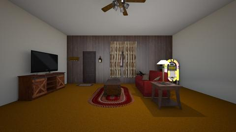 Country Home LR - Living room  - by WestVirginiaRebel