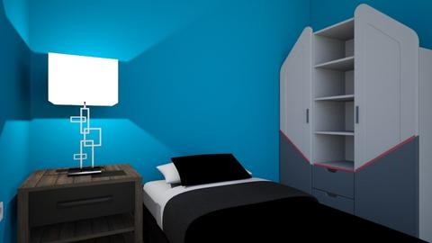 mazra3a room my bed area - Kids room  - by Yaso Hinnawi
