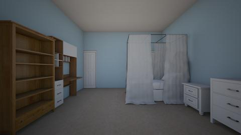 my bedroom - Kids room  - by Addiawesomness