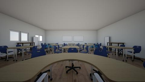 classroom - by oheinle1