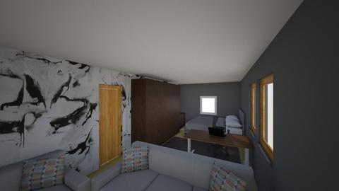 My Room - Modern - Bedroom  - by martenator