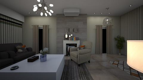 mmmm - Modern - Living room  - by mofadl