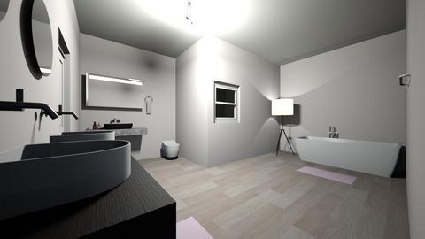 modern bathroom - Bathroom  - by lolo bean