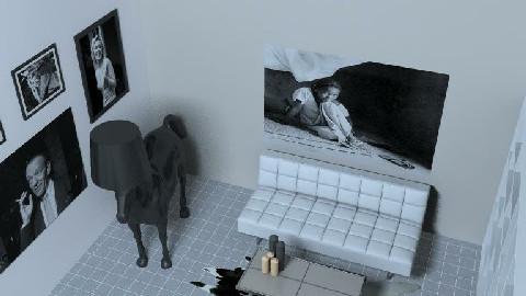 minimal living room 1 - Minimal - Living room  - by pussycat1984