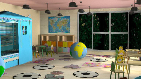 nursery  - Kids room  - by rimouza
