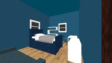Sam bedroom - Modern - Bedroom - by sirsamuel