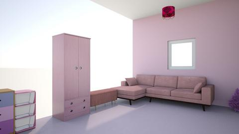 Pink Teen room - Bedroom  - by emmanewton224
