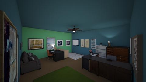 School Room_Leopold - Office  - by Rsvo64