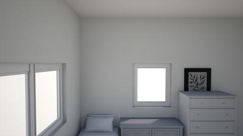 my funny mini room - Modern - Bedroom  - by the big CHUNGUS