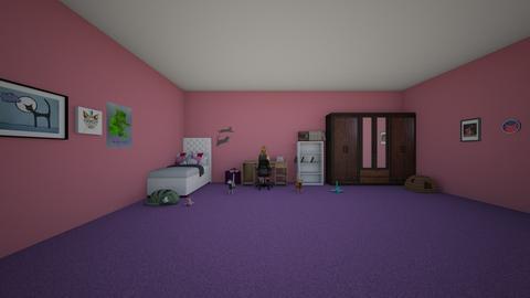 Maria Alice room - Bedroom  - by 10kozdim