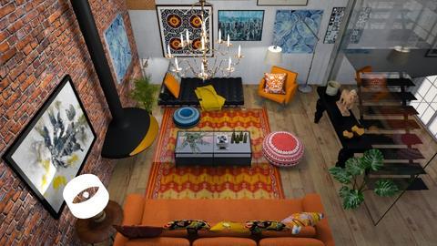 bohemian loft - by shistyle