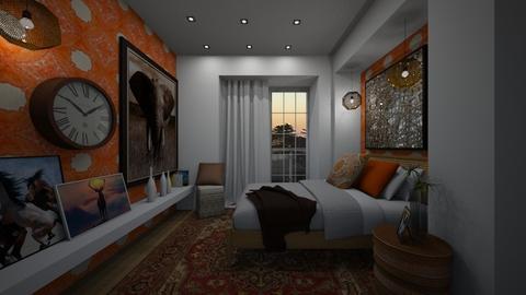 cozy - Bedroom - by Grigoria Popli