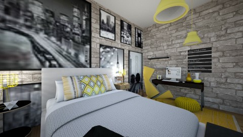 The photo wonder wall - Bedroom  - by Maize