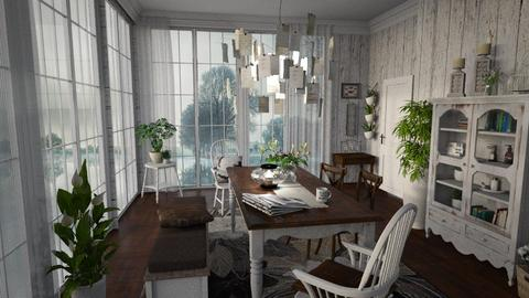 Rainy Day - Vintage - Dining room  - by Artem Vivendi