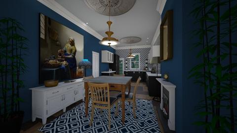 Looe House kitchen - Kitchen - by Lisett