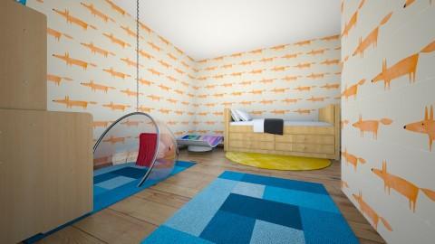 playroom - Vintage - Kids room - by happyawesome