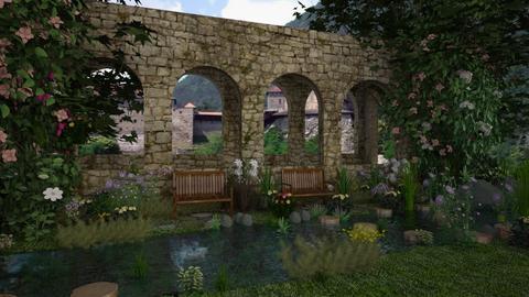 Old Castle Ruin  - by lydiaenderlebell
