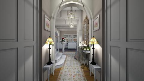 Matilda's shabby chic hallway - by Matilda de Dappere