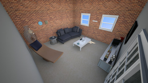 room  - Living room - by kanka1390