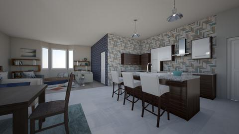 Rustic Modern - Kitchen  - by Raquel Collison