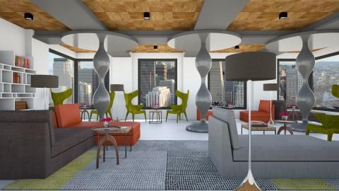 Hotel BLOcK Lounge - Modern - by 3rdfloor