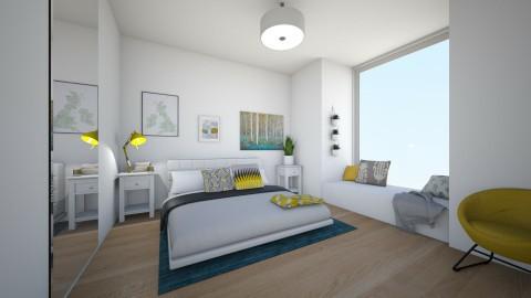 Bed on the Floor - Modern - Bedroom  - by ninazara1234