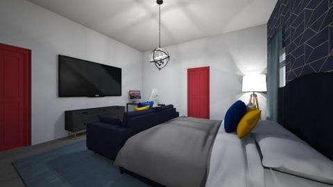 Nathalia Castillo - Masculine - Bedroom  - by Gata peligrosa
