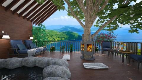 wooden peace - Modern - Garden  - by lamzoi