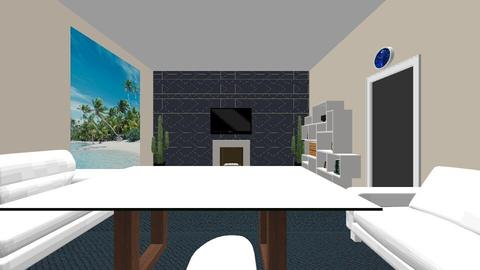 Living room_Guest house - Eclectic - Living room - by Ahmedb