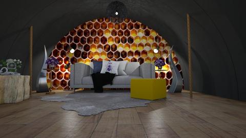 Beehive - Living room  - by JarvisLegg