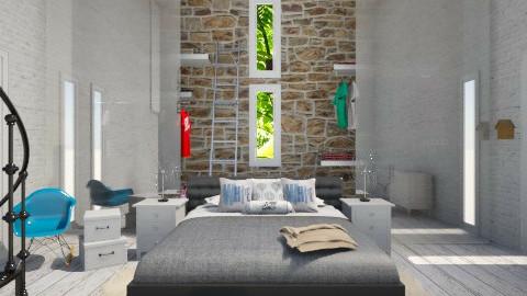 barn bedroom - Country - Bedroom  - by matthewgamman