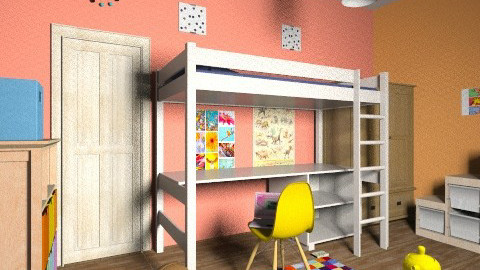 Kids Berdroom2 - Eclectic - Kids room  - by Julia Syrykh