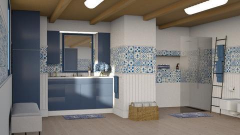 478 - Classic - Bathroom  - by Claudia Correia