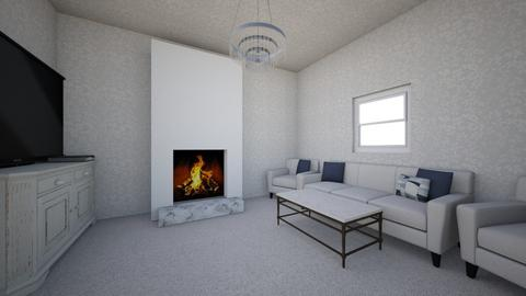 white living room - by sophronia12