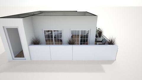 habitacion principal 4 - Modern - Bedroom  - by EDGARNIKA