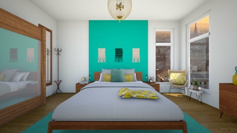 Modern bedroom - Modern - Bedroom  - by martinabb