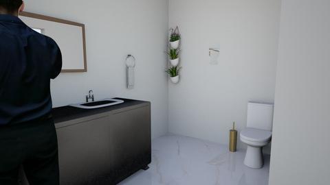 rich bathroom - Bathroom  - by ParishAbby